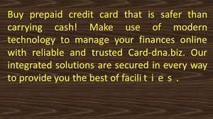 buy prepaid card online buy prepaid credit card at card dna