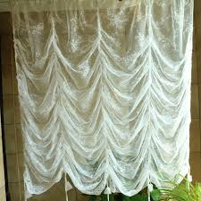 Curtains Floral Aliexpress Com Buy European White Embroidery Window Curtain