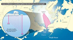 Map Of Oceans Team Reports Ocean Acidification Spreading Rapidly In Arctic Ocean