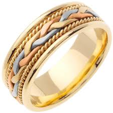 color wedding rings images 14k tri color gold french braid band 7mm 3000182 shop at jpg