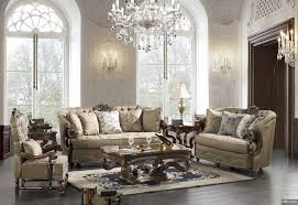 elegant grey formal living room furniture with crystal glass