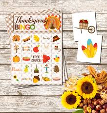 free printable thanksgiving bingo pretty my