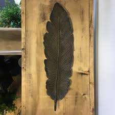 cast iron feather shaped wall décor decorative tray u2013 living roots