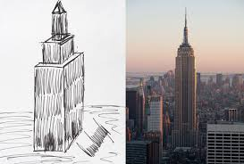 trump drawing of empire state building goes up for auction to