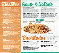 on the border restaurant menu locations restaurants near me