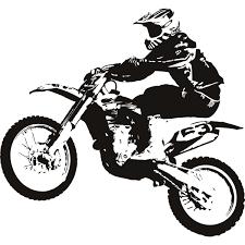 honda motocross bike biker clipart honda motorcycle pencil and in color biker clipart