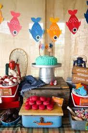 Fishing Themed Baby Shower - fish fry honeydo fishing decorations fishing themed party