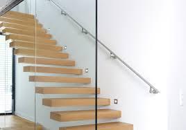 escalier design bois metal menuiserie intérieure escaliers en bois verre et métal