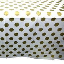 gold polka dot table cover gold polka dot tablecover 11179372935 ebay