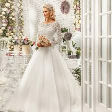 wedding dress styles 2017 new arrival off white flowers princess