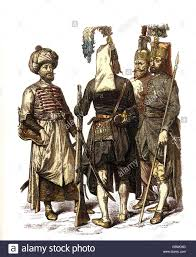 Ottoman Janissary Ottoman Empire Archer And Janissaries 17th Century