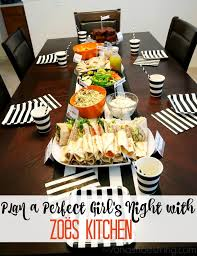Zoes Kitchen Catering Menu by Plan A Perfect Girls U0027 Night With Zoës Kitchen Catering Zoescaters Ad