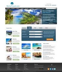 layout web portal this website design for apj tours and travels aapj tours and