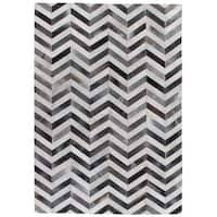 chevron hide rug exquisite rugs chevron hide silver white leather hair on hide