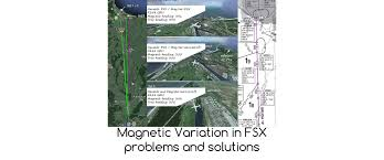 Magnetic Declination Map Magnetic Variation In Fsx Problems And Solutions U2022 C Aviation