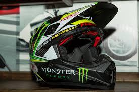 monster helmet motocross bell helmets 2015 american international motorcycle expo day