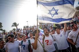 Dancing Flags Jerusalem Thousands Of Israelis Hold Annual U0027yom Yerushalayim U0027 March