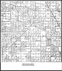 Southeast Wisconsin Map by Ashford Township Fond Du Lac County Wisconsin