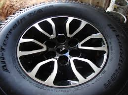 ford rims ford f150 f 150 raptor wheels rims bfgoodrich tires