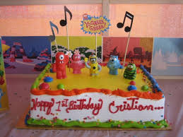yo gabba gabba birthday cake3d cards birthday cakes cake decoration and design ideas part 10