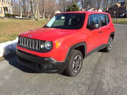 red jeep renegade 2016 enter small crossover craze with fun economical jeep renegade