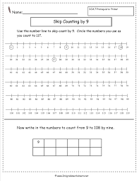 Addition Worksheets Single Digit Free Skip Counting Worksheets