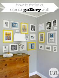 how to make an easy gallery wall c r a f t
