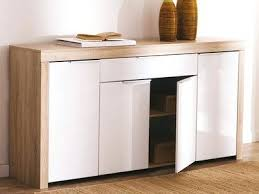 buffet bas de cuisine buffet bas de cuisine buffet bas 4 portes 1 tiroir blanc et bois