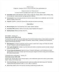 sample of an administrative assistant resume u2013 topshoppingnetwork com