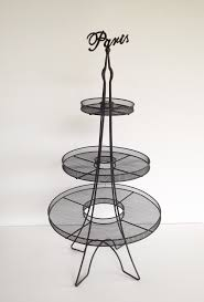 eiffel tower cake stand parisian party supplies lifes celebration