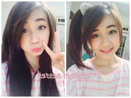 make up indonesia makeup cewek korea