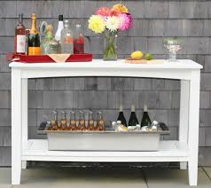 Patio Sideboard Table Patio Furniture Buffet Tables American Recycled Plastic