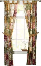 Tab Top Sheer Curtain Panels August Grove St John Patchwork Sheer Tab Top Curtain Panels