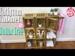 Diy Bathroom Storage Dollar Tree Diy Bathroom Storage Cabinet