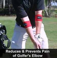 Bench Press Forearm Pain Elbow Compession Cuff For Golf Lifter U0027s Tennis Elbow 2 Count