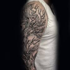 tree tattoo designs for men sleeves pictures to pin on pinterest