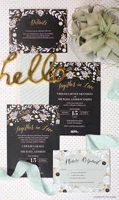 mint wedding invitations black and mint wedding invitations lia griffith