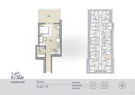 Residence Floor Plans Floor Plans Elite Business Bay Residence Dubai