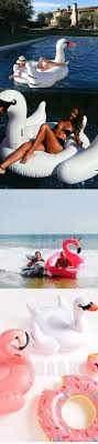 60 Inch 1 5M Giant Swan Inflatable Flamingo Ride Pool Toy Float