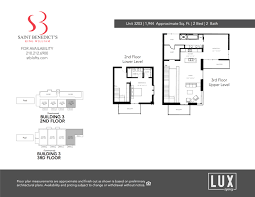 plans u0026 pricing u2013 st benedicts lofts