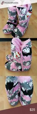 womens slipper boots size 11 12 best hello slippers and slipper boots images on
