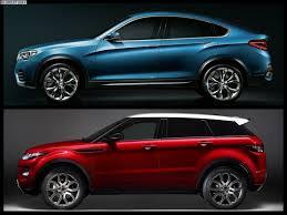 range rover concept bmw x4 vs range rover evoque pin x cars