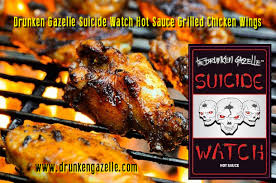 gazelle cuisine grilled chicken wings with the drunken gazelle s and