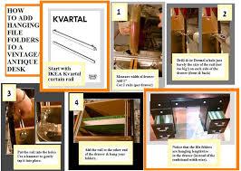 No Drill Curtain Pole Hang More Than Curtains With A Kvartal Curtain Rail Ikea Hackers