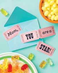 movie night mother u0027s day card martha stewart