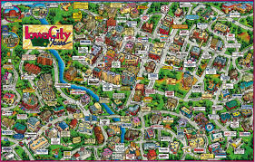 Iowa City Map Iowa City Photos Places And Hotels U2014 Gotravelaz
