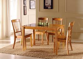 Wooden Dining Table Chairs Retro Wooden Dining Table Chair Room Furniture Furniture
