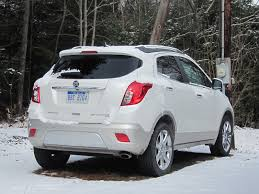 buick encore 2013 buick encore subcompact luxury crossover drive report