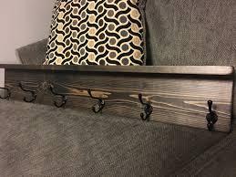 rustic coat rack shelf wall coat rack with shelf wall shelf