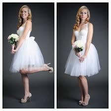 knee length wedding dress archives the broke bride bad